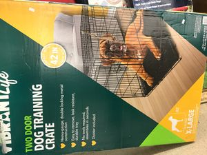 Extra large dog training crate know in the box regular price $89.99 now just for $50 for Sale in Parma Heights, OH