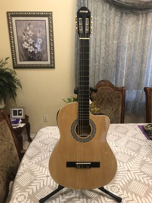 Fever classic electric acoustic guitar for Sale in Cudahy, CA