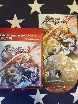 Soul Caliber 5 (PS3) for Sale in US