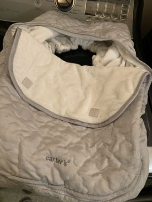 Carters car Seat cover for Sale in Eugene, OR