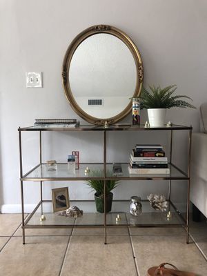 Glass Modern Entryway Table for Sale in Clearwater, FL