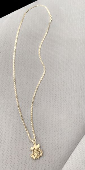 14 karat chain an charm for Sale in Chicago, IL