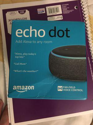 Amazon Echo Dot 3rd Generation for Sale in Baton Rouge, LA