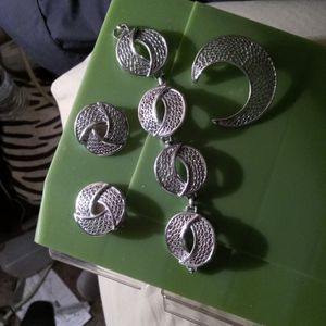 Brooch, Bracelet and Earrings, Silver, for Sale in Albuquerque, NM