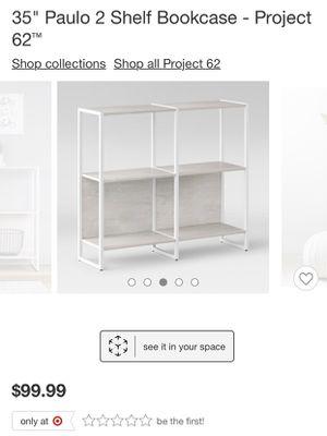 """35"""" Paulo 2 Shelf Bookcase for Sale in Phoenix, AZ"""