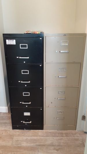 Metal filing cabinets for Sale in Tampa, FL