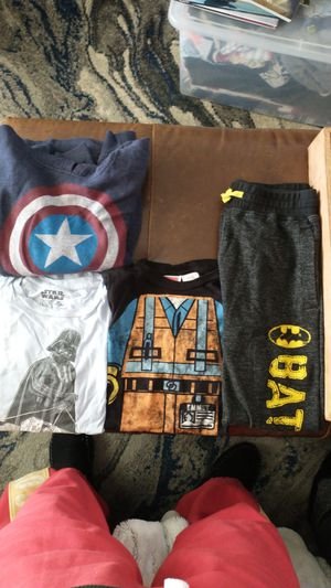 Boys clothes size large Batman Lego Star wars for Sale in San Mateo, CA