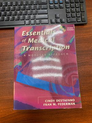 Essentials of Medical Transcription for Sale in New York, NY