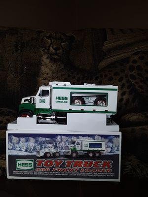 Collectible Hess Toy Truck and Front End Loader for Sale in Frostproof, FL