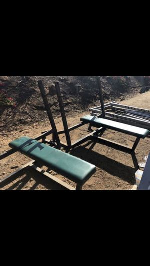 COMMERCIAL OLYMPIC HEAVY WEIGHT BENCH PLUS MORE for Sale in San Diego, CA