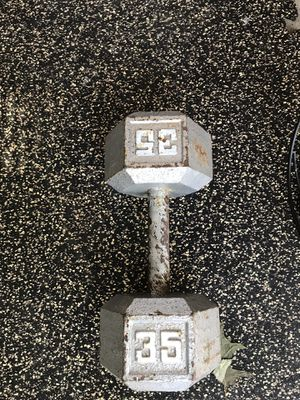 35lb Dumbbell for Sale in Florissant, MO