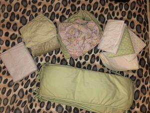 Crib bumpers, changing table cover, etc for Sale in Oceanside, CA