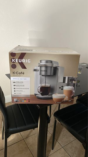 Keurig K-Cafe Special Edition Single-Serve K-Cup Pod Coffee, Latte and Cappuccino Maker - Nickel for Sale in Roseville, CA