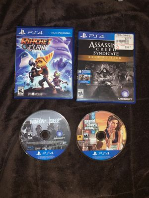 PS4 games for Sale in CORP CHRISTI, TX