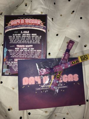 2 Day n Vegas wristbands for Sale in Hawthorne, CA