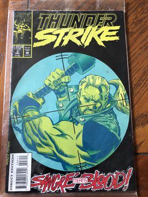 Thunder strike comic for Sale in McDonald, PA