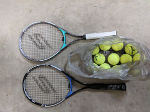 Tennis Rackets and Tennis Balls for Sale in Winston-Salem, NC
