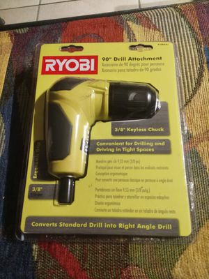 Ryobi 90 degree drill attachment NEW for Sale in Fort Lauderdale, FL