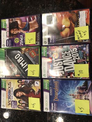 Xbox 360 games. Price listed on each game for Sale in Sherwood, OR