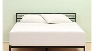 12in memory foam mattress and 14 inch mattress bed frame with no head board(full size) for Sale in Buffalo, NY