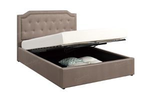 Brand new queen lift storage queen bed frame only for Sale in San Diego, CA