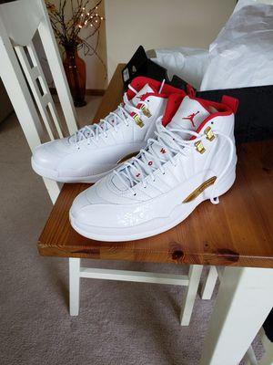 """Jordan retro 12 """"fiba"""" 9.5 mens shoe for Sale in Algonquin, IL"""