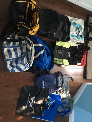 Various tote, weekend and cinch top bags for Sale in Springfield, VA