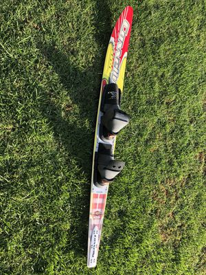 """63"""" Connelly Concept Graphite Slalom Water Ski with full double boot Power Wrap S Bindings for Sale in Riverside, CA"""