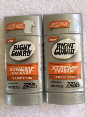 Right Guard deodorant. $5 for both. Price firm. Pickup only. Hablo español. for Sale in Las Vegas, NV