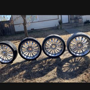 """26"""" Rims $300 Takes All Of Them for Sale in Christoval, TX"""