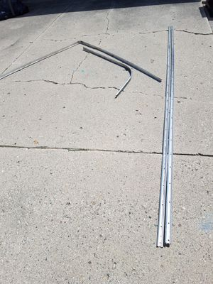 45 ft Aluminum boat rub rail with insert. for Sale in Utica, MI