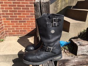 Men's Harley Davidson boots 11 1/2 for Sale in Pittsburgh, PA