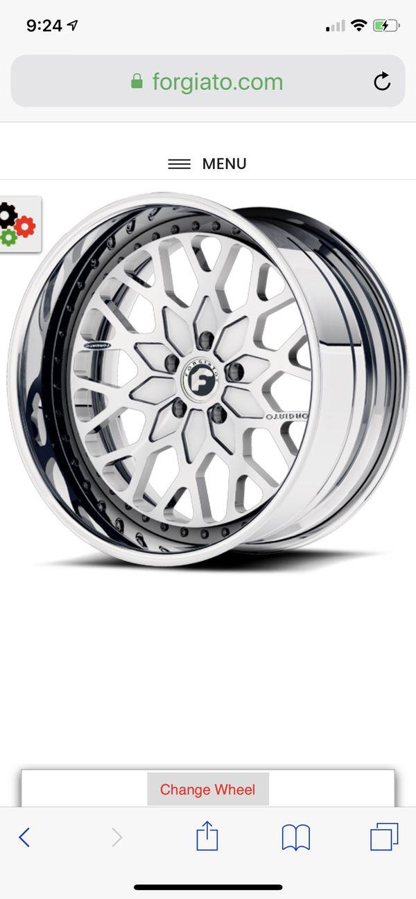 Forgiato Niddo M wheels