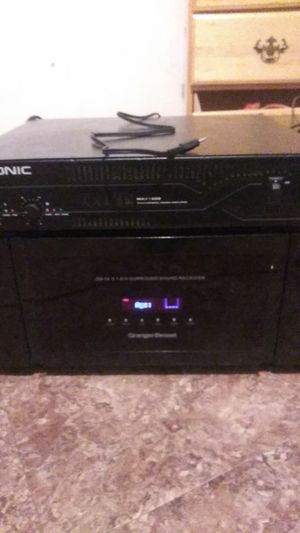 Reciever and Amplifier for Sale in Wichita, KS