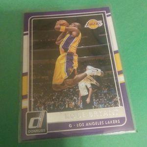 2015-16 Donruss Kobe Bryant Basketball Card#62 for Sale in Redmond, OR