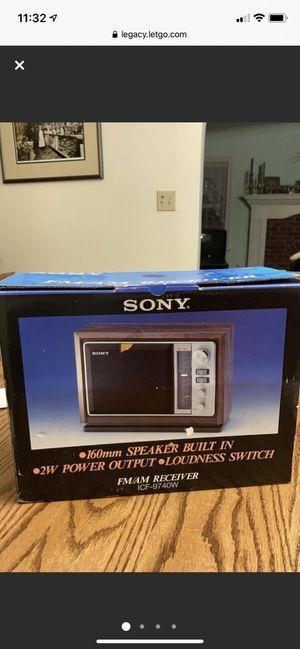 Sony Radio Built In Speaker for Sale in Danville, PA