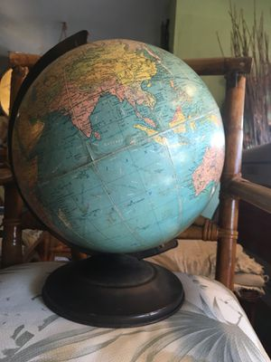 World vintage globe for Sale in San Diego, CA