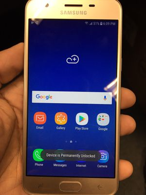 Unlocked Samsung J3 star for Sale in The Bronx, NY