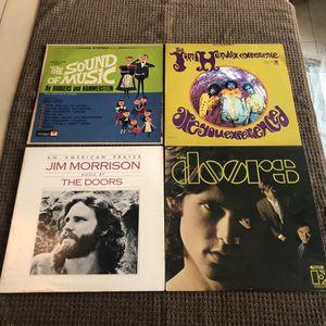 Lot of 10 Ten LP vinyl Vintage albums records Doors Grateful Dead Hendrix Wizard of Oz for Sale in Fort Lauderdale, FL