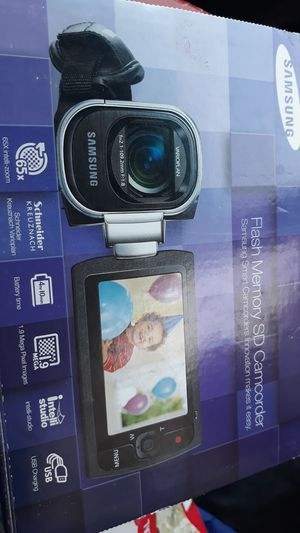 Samsung flash memory SDK camcorder for Sale in Modesto, CA