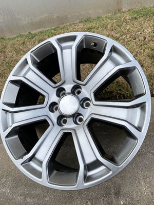 22 INCH GMC DENALI RIM ONLY ONE SOLO UNO for Sale in Grand Prairie, TX