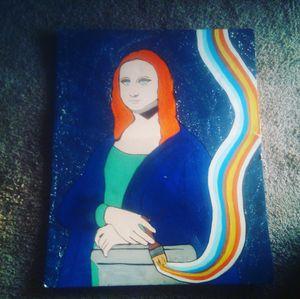 Mona Lisa painter by happyartsy for Sale in Phoenix, AZ