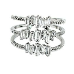 Three layers of sparkling crystal ring for Sale in Redwood City,  CA