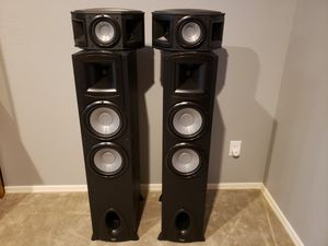 Klipsch tower and surround speakers for Sale in Surprise, AZ