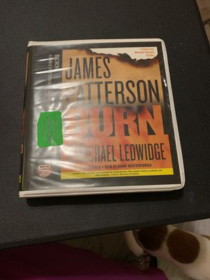 james patterson - burn on cd for Sale in Palm Bay, FL