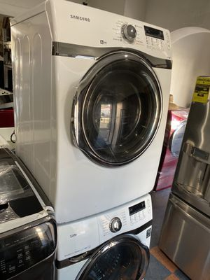 SAMSUNG HE FRONT LOAD WASHER AND DRYER SET for Sale in Azusa, CA