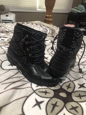 Justice rain boots size 3 girl for Sale in Covina, CA