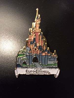 Vintage Euro Disney Castle pin for Sale in Rockville, MD