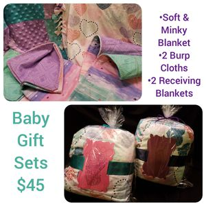 Baby Blanket Gift Set for Sale in Macedonia, OH