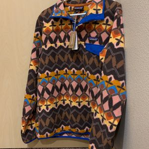 Patagonia Women's Synchilla Snap-T Pullover, for Sale in SeaTac, WA